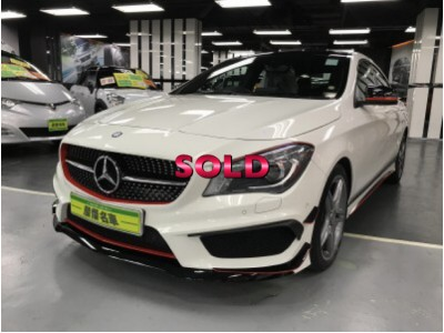 MERCEDES-BENZ CLA 250 FACELIFE SPORT AMG