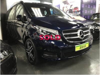 MERCEDES-BENZ V250D AVANTGARDE LONG